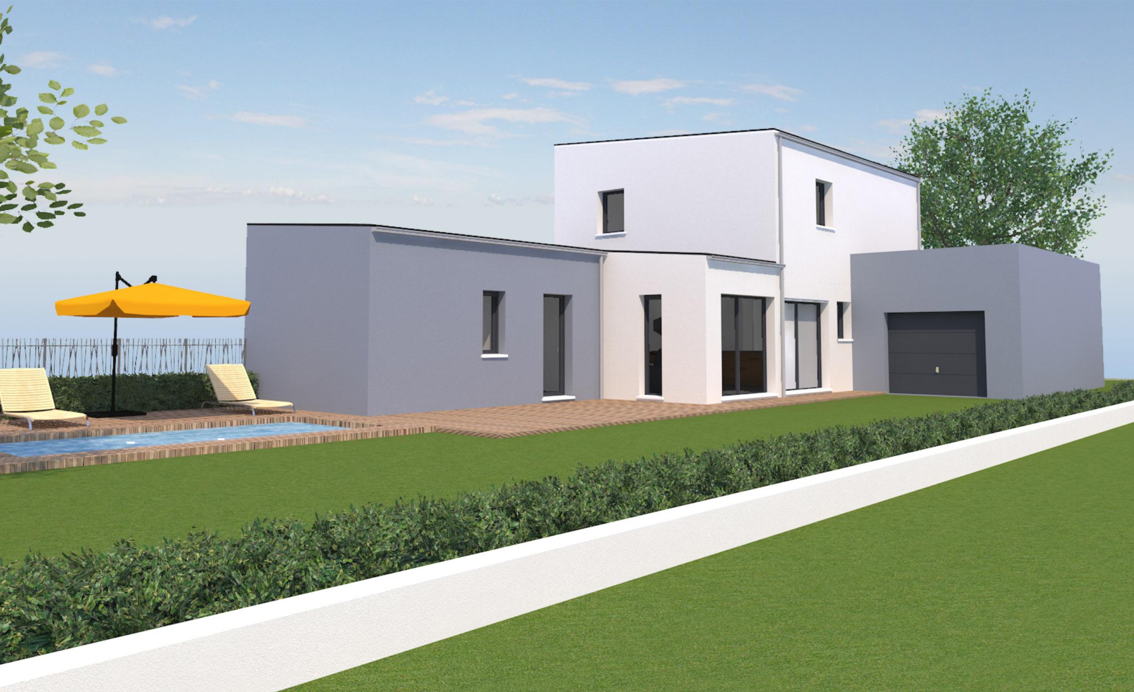 Maison et comfort super maison moderne basque id es de for Maison super moderne
